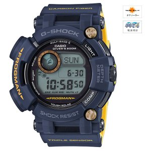 [1000円割引クーポンあり]CASIO (カシオ) GWF-D1000NV-2JF G-SHOCK FROGMAN MASTER OF G Master in NAVY BLUE MULTIBAND6 ソーラー電波時計★
