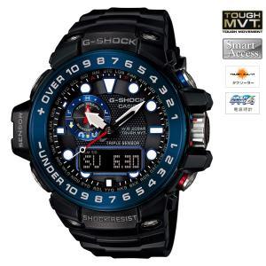 [200円割引クーポンあり]CASIO (カシオ) GWN-1000B-1BJF G-SHOCK GULFMASTER (ガルフマスター) TOUGH MVT ソーラー電波時計★