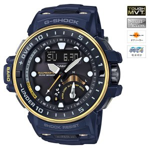 [割引クーポンあり]CASIO (カシオ) GWN-Q1000NV2AJF G-SHOCK GULFMASTER MASTER OF G Master in NAVY BLUE MULTIBAND6 ソーラー電波時計