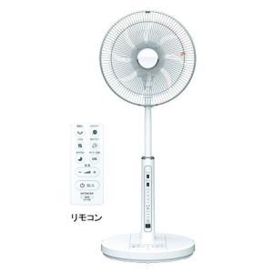 [200円割引クーポンあり]HITACHI (日立製作所) HEF-DC300 扇風機 リビング扇 DCモーター リモコンタイプ|telaffy