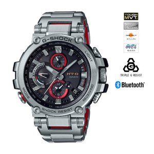 MT-G G-SHOCK TOUGH MVT MULTIBAND6 ソーラー電波時計 Bluetoo...