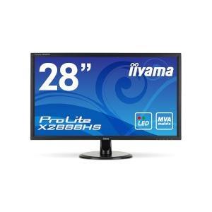 [200円割引クーポンあり]iiyama (イーヤマ) X2888HS-B1 <ProLite>28インチワイドMVA+パネルX2888HS-B1(1920x1080/D-Sub15Pin/DVI/HDMI/DPブラック)|telaffy