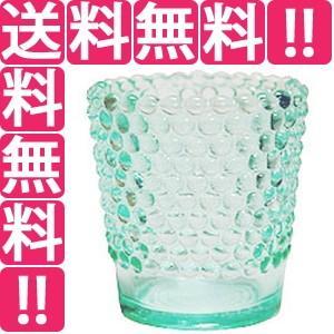 カメヤマ KAMEYAMA キャンドルホルダー ホビネルグラス エメラルド 6個セット|telemedia
