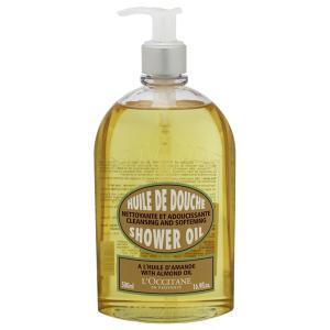 ロクシタン L OCCITANE アーモンド モイスチャライジングシャワーオイル 500ml 化粧品 コスメ AMANDE SHOWER OIL|telemedia