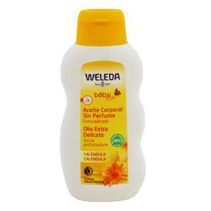 ヴェレダ WELEDA カレンドラ ベビー オイル 200ml 化粧品 コスメ BABY CALENDULA OIL GENTLY CARES FOR AND PROTECTS DELICATE SKIN telemedia