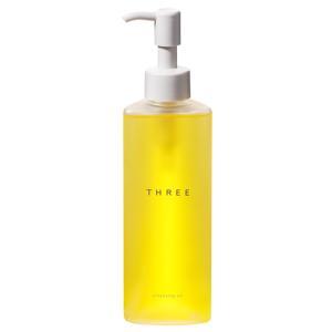 スリー THREE クレンジングオイル 185ml 化粧品 コスメ CLEANSING OIL|telemedia