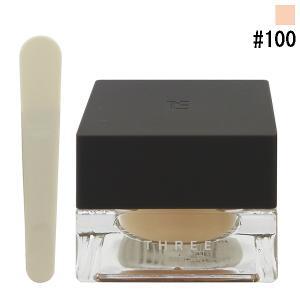 スリー THREE コンプリートハーモニーファンデーション #100 28g 化粧品 コスメ COMPLETE HARMONY FOUNDATION 100|telemedia