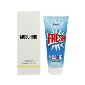 モスキーノ MOSCHINO フレッシュクチュール バス&シャワージェル (箱なし) 200ml FRESH COUTURE THE FRESHEST BATH AND SHOWER GEL|telemedia
