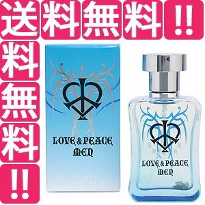 LOVE&PEACE ラブ&ピース メン EDP・SP 50ml 香水 フレグランス LOVE AN...
