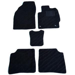 天野 AMANO オデッセイ 型式:RC 年式:H25〜 (8人乗り ヒーター無) フロアマット一式 エクセレント [カラー:ブラック ウェーブ]|telemedia