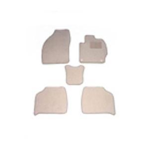 天野 AMANO クラウン 年式:H24~ 型式:GRS211 4WD フロアマット一式 エコノミー [カラー:ベージュ]|telemedia