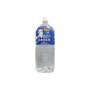 五洲薬品 GOSHU 海のミネラル水 2000ml ペットボトル 6本セット|telemedia