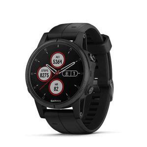 ガーミン GARMIN fenix5S Plus Sapphire(フェニックス5S プラス サファイア) 日本語正規版 [カラー:ブラック] #010-01987-77|telemedia