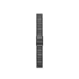 ガーミン GARMIN QuickFitバンド 22mm ベルト交換キット [カラー:CグレーDLCチタニウム] #010-12740-62 QuickFit 22mm CGray DLC Titanium|telemedia