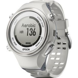 エプソン EPSON WristableGPS(リスタブルGPS) SF-850PW 脈拍計測・活動量計機能搭載GPSウォッチ [カラー:ホワイト] #SF850PW telemedia