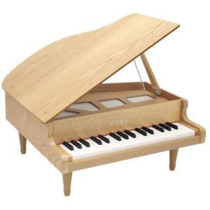 『2021年2月以降入荷予定』河合楽器製作所 1144(1144-7) グランドピアノ ナチュラル (おとをだしてあそぶ) 木の玩具|telj