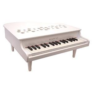 『入荷待ち』河合楽器製作所 ミニピアノ P-32 1162(1162-1) ホワイト (おとをだしてあそぶ) 木の玩具|telj