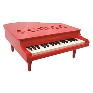 『2020年12月末頃入荷予定』河合楽器製作所 ミニピアノ P-32 1163(1163-8) レッド (おとをだしてあそぶ) 木の玩具|telj