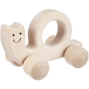 河合楽器製作所 2031 セレクトシリーズ ハンドトイ かたつむり (うごかしてあそぶ) 木の玩具|telj