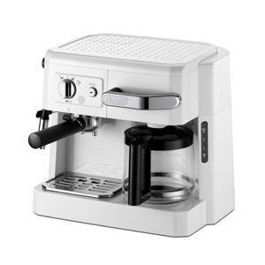 コーヒーメーカー デロンギ DeLonghi コンビ BCO410J-W ホワイト|telj