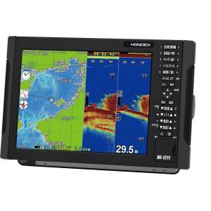 『2020 4月発売』 『代引手数料無料』 ホンデックス (HONDEX) プロッター魚探 HE-1211 12.1型液晶 『GPS内蔵仕様・出力600W』|telj