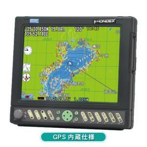 [代引手数料無料] ホンデックス (HONDEX) GPSプロッター HE-732S [GPS内蔵仕様]|telj
