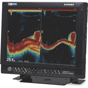 ホンデックス (HONDEX) デジタル魚群探知機 HE-1511F-Di-Bo 15型高輝度XGA液晶 出力2.5kW 周波数32/40、40/75、50/55、85/90kHz|telj