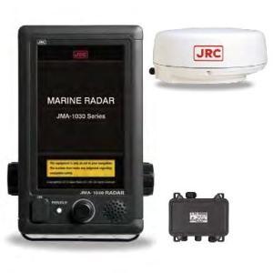 日本無線(JRC) 船舶用レーダー JMA-1034 レドーム型 4kW 2.0ft|telj