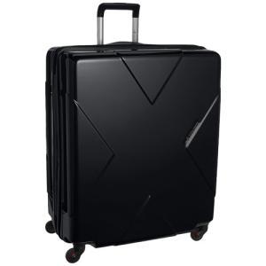 スーツケース HIDEO WAKAMATSU メガマックス 85-75951 ブラック 飛行機預け可能 105リットル ヒデオワマカツ MEGAMAX MEGA MAX telj