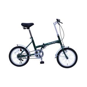 『送料無料』ミムゴ mimugo Classic Mimugo 16インチ折畳自転車 シングルギア MG-CM16G グリーン『代引き・時間指定不可』|telj