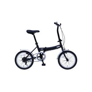 『送料無料』ミムゴ mimugo CHEVROLET 16インチ折畳自転車 MG-CV16G ブラック『代引き・時間指定不可』|telj