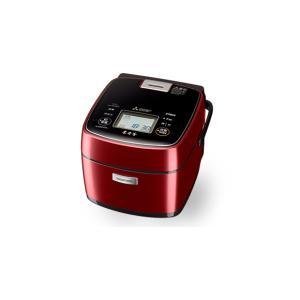 炊飯器 本炭釜 三菱電機 Mitsubishi Electric  NJ-SWB06-R NJSWB06 0.5〜3.5合 赤紅玉 レッド 赤 telj