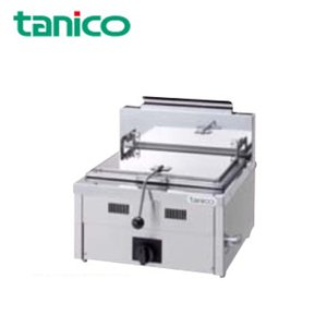 タニコー 業務用ガス調理機器 ガス餃子グリラー 1口 卓上タイプ N-TCZ-6060G『代引き・時間指定・個人宅配送不可』|telj