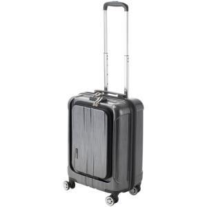 スーツケース Sサイズ 機内持込可 フロントオープン ポライト telj