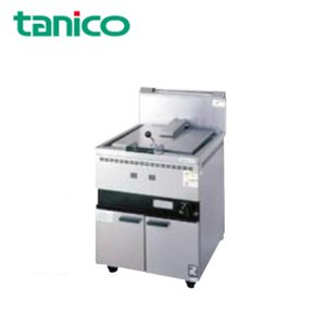 タニコー 業務用ガス調理機器 ガス餃子グリラー 1口 TGZ-60S(TB)『代引き・時間指定・個人宅配送不可』|telj