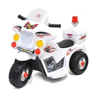 『2021年1月下旬頃入荷予定』電動乗用玩具 ポリスバイク VS-T015 3歳〜5歳 室内玩具|telj