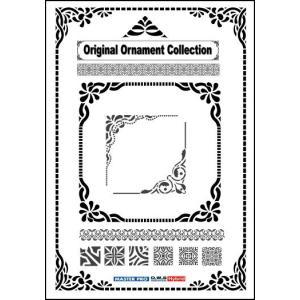 飾り罫素材集 オリジナルオーナメントコレクション(イラストレーター,Illustrator)|temptation