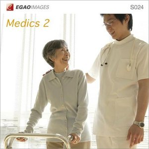 写真素材集 EGAOIMAGES S024 医療介護「医師と看護師と患者2」|temptation