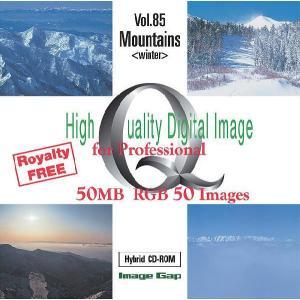 写真素材集 Vol.85 山(冬)|temptation