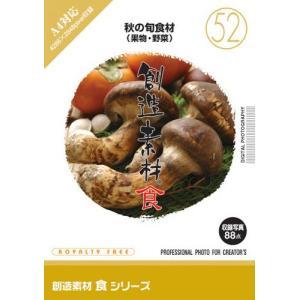 写真素材集 創造素材 食シリーズ(52)秋の旬食材(果物・野菜)|temptation