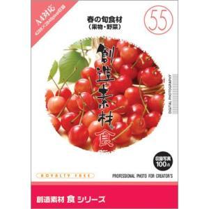 写真素材集 創造素材 食シリーズ(55)春の旬食材(果物・野菜)|temptation