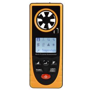 多機能ポケット高性能低価格気象メーター/気象計、風速計 温度 露点 湿度 大気圧 海抜 照度 ウィン...