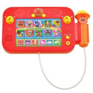 アンパンマン タッチでたのしい♪マイクでうたおうアンパンマン! 音感育成玩具|ten-ten-store