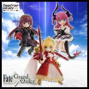 デスクトップアーミー Fate/Grand Order 第2弾 3個入りBOX 彩色済可動フィギュア...