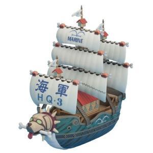 ワンピース グッズ プラモデル ガープの軍艦 プラモデル 偉大なる船 グランドシップコレクション|ten-ten-store