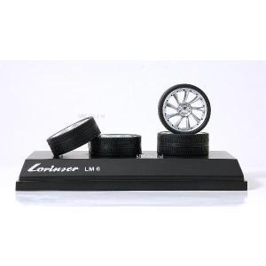 【ホットワークス】 1/18 スケール用  Lorinser LM 6 ホイール モデル  |ten-ten-store