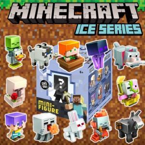 マインクラフト コレクタブルミニフィギュア ミステリーパック アイスシリーズ 全12種セット Minecraft ten-ten-store