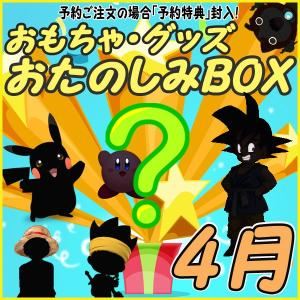 おたのしみBOX (おもちゃVol.4) 4月BOX 何が届...