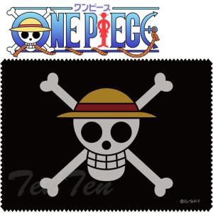 ONE PIECE グッズ 麦わらの一味 海賊旗クリーナークロス COSPA ワンピース コスパ|ten-ten-store