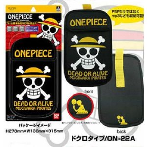 ワンピース グッズ ポータブルゲームジャケット ドクロ/手配書 PSP, PSP go, MP3対応|ten-ten-store|02